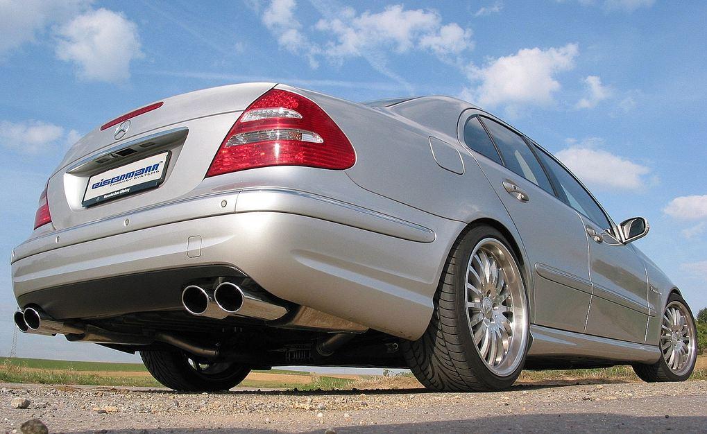 Eisenmann Uitlaat Voor Mercedes Benz W211